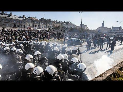 Πολωνία: Συγκρούσεις με ακροδεξιούς σε Gay Pride