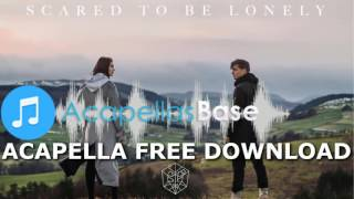 Martin Garrix & Dua Lipa - Scared To Be Lonely (Acapella) FREE DOWNLOAD Video