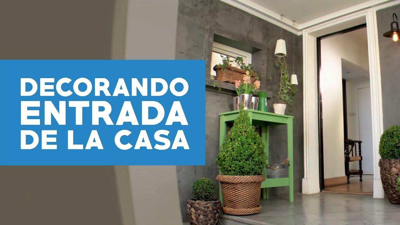 C mo decorar con plantas la entrada de la casa for Como decorar un antejardin pequeno
