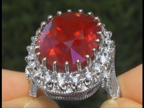 Certified Jewelry Sells Ruby Ring