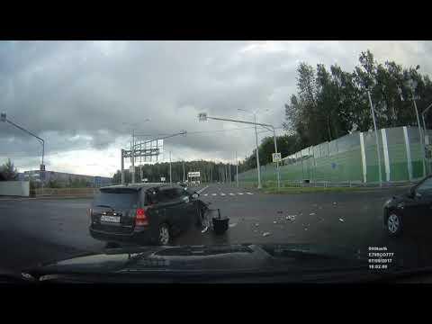 Авария на Боровском шоссе