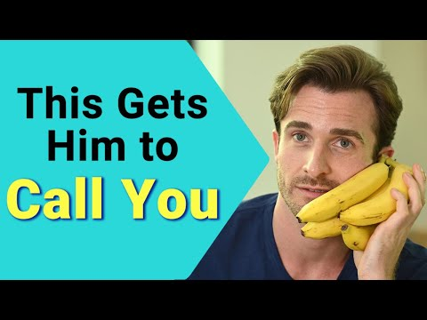 3 Simple Ways to Get Him to Call You Instead of Just Texting (Matthew Hussey, Get The Guy)
