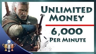 Nonton The Witcher 3 Wild Hunt - Unlimited Money (6,000 Crowns Per Minute) Infinite Coin Exploit Film Subtitle Indonesia Streaming Movie Download