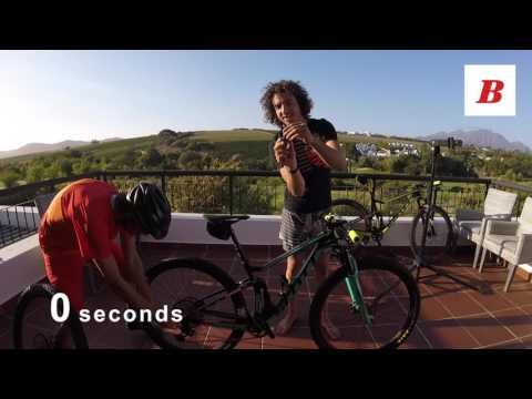 Bicycling's gear editor, Oli Munnik, takes on the fastest wheel changer in the business, Scott-Sram Racing's Yanick the mechanic in episode 1 of Alternative Races.