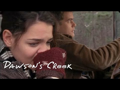 Joey and Pacey's First Kiss! | Dawson's Creek