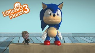 LittleBigPlanet 3 - Sonic Mania and Sonic Forces Costumes