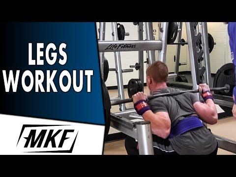 BUILD BIGGER LEGS ► Complete Bodybuilding Leg Workout