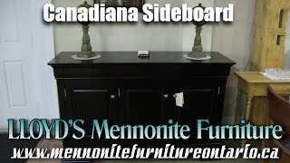 Canadiana Sideboard