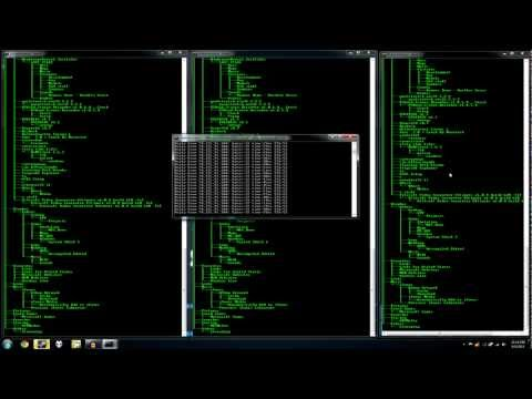 hacking - This tutorial will instruct you on how to be a computer hacker- both visually, and professionally. It's useful for impressing your friends, family, and many ...