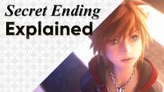 Kingdom Hearts 3 SECRET ENDING EXPLAINED