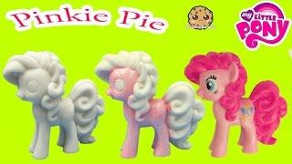DIY Painting My Little Pony Pinkie Pie Statue Paint Craft Do It Yourself Video Cookieswirlc