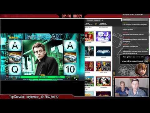 BIG WIN - James Dean - Nextgen Gaming Slot