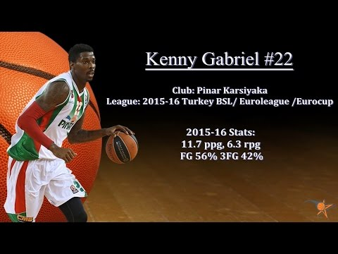 Kenny Gabriel 2015-16 Highlights Euroleague