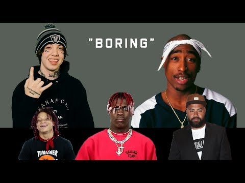 Celebrities React to Lil Xan Calling Tupac 'Boring'  (Lil Yachty, Trippie Redd, HOT 97 + more )