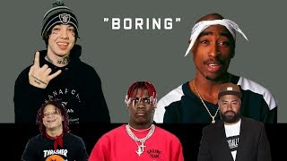 Video Celebrities React to Lil Xan Calling Tupac 'Boring'  (Lil Yachty, Trippie Redd, HOT 97 + more ) MP3, 3GP, MP4, WEBM, AVI, FLV Oktober 2018