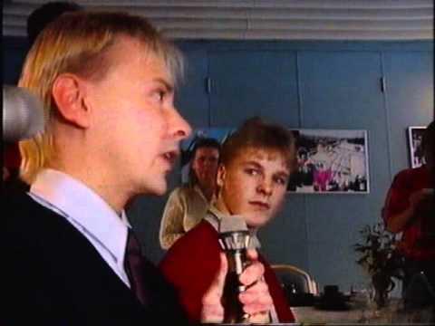 Matti Nykänen ja Toni Nieminen haastattelussa, Olympialaiset 1992 tekijä: idontlikeutube2