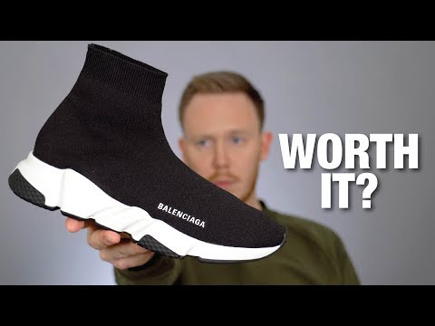 IS IT WORTH $800? Balenciaga Speed Trainer REVIEW & On Feet