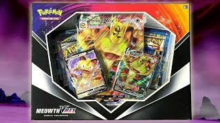 Pokemon Meowth VMax Special Collection Box Opening! by The Pokémon Evolutionaries