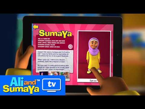 Video of Ali and Sumaya: Let's Pray!