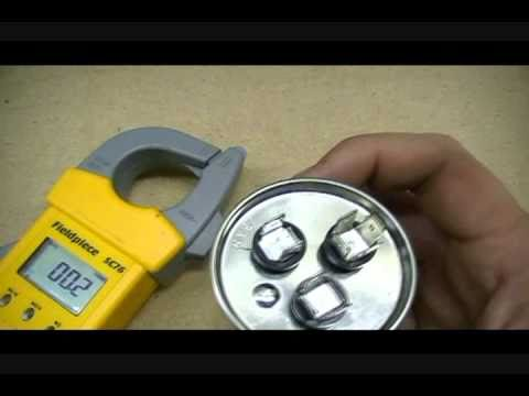 Capacitors - How to check capacitors, standard, dual and mars.