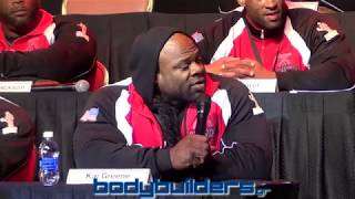 Video The Kai Greene & Phil Heath Fight At The 2014 Mr. Olympia Press Conference MP3, 3GP, MP4, WEBM, AVI, FLV April 2019
