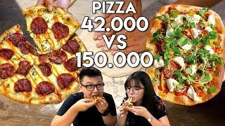 Video PIZZA Rp 42.000 Vs Rp 150.000 !! | Mahal Vs Murah MP3, 3GP, MP4, WEBM, AVI, FLV Maret 2018