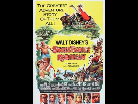 Swiss Family Robinson (1960)  Simple Review #69