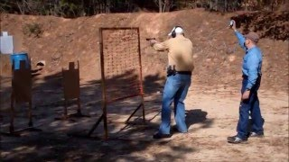 United States Practical Shooting Association mini-event at Texarkana Gun Club for expert to beginner level shooters.