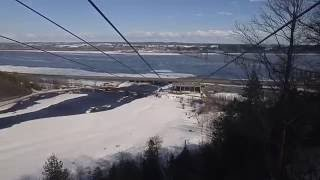 Boischatel (QC) Canada  city photo : cable car at Montmorency Falls, Quebec, Canada