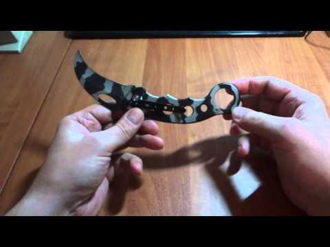 Как сделать нож керамбит своими же руками