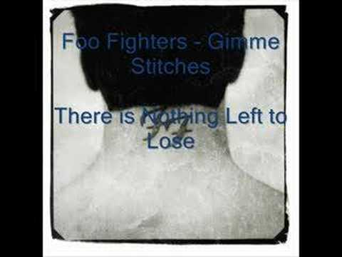 Tekst piosenki Foo Fighters - Gimme Stitches po polsku