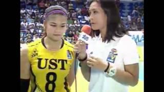 Shakeys V-League S12:   Carmela Tunay, POG (UST vs  CSB, 7/26/15), công phượng, u23 việt nam, vleague
