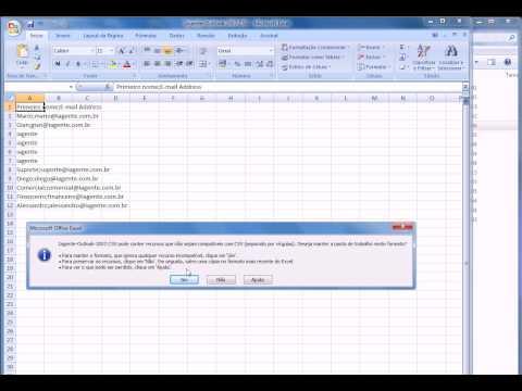 Saiba Como Exportar Lista de E-mails do Outlook