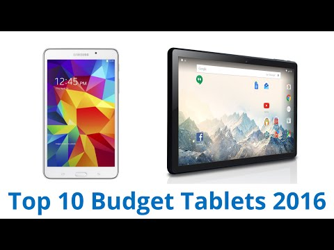 10 Best Budget Tablets 2016