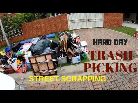 Street Scrapping Lean Pickings on Election Day