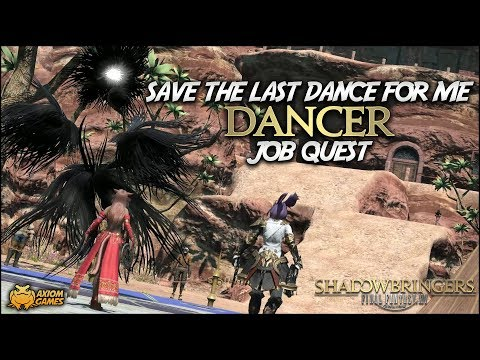 FFXIV: Shadowbringers - DNC Save the Last Dance for Me (Job Quest)