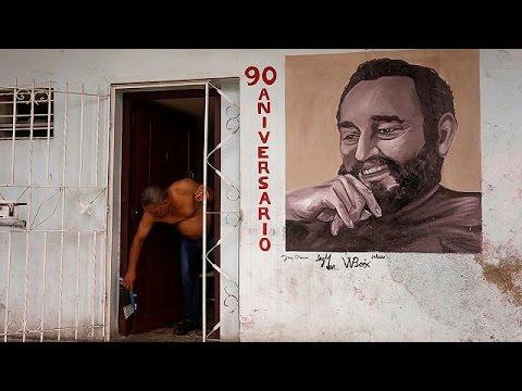 Κούβα: Τα 90α του γενέθλια γιορτάζει ο Φιντέλ Κάστρο