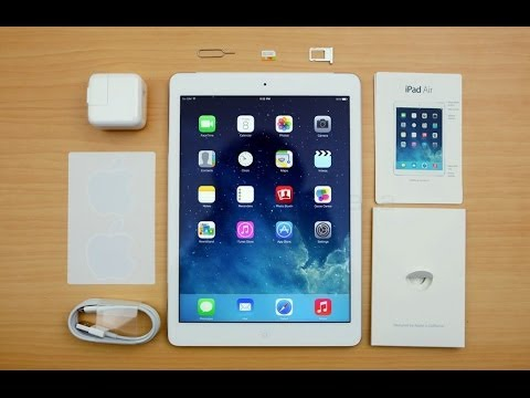iPad Air Space Gray 128GB Cellular Unboxing and Review!