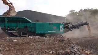 Powerscreen Premiertrak R400 mobile jaw crusher