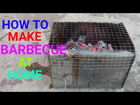 how to make barbecue at home
