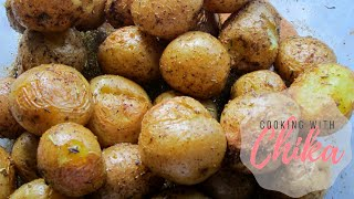 Roasted Baby Potatoes are amazingly simple and delicious dinner idea - perfect for the holidays or a family dinner! SUBSCRIBE ...