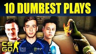 Video Top 10 Dumbest Pro Plays In CS:GO History MP3, 3GP, MP4, WEBM, AVI, FLV Maret 2018