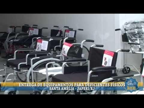 ENTREGA DE EQUIPAMENTOS PARA DEFICIENTES F�SICOS