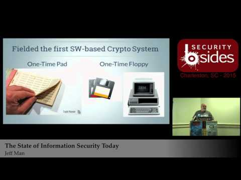 The State of Information Security Today - Jeff Man