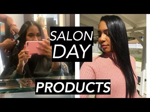 Hair salon - SALON DAY: HOW TO MAKE YOUR STRAIGHT HAIR BLOWOUT LAST FOR A MONTH