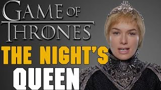 Amino App:iOS: http://apple.co/2uPUh3JAndroid: http://bit.ly/2sLtrgzFollow Me: RedTeamReview▬▬ Video Description ▬▬One of the most interesting theories to come out this year is that Cersei Lannister will be the new Night's Queen. Is there anything to this theory or is it just wild speculation with no real basis? Let's take a look!▬▬ Support My Channel ▬▬● Patreon: https://www.patreon.com/redteamreview●T-Shirts: https://shop.spreadshirt.com/RedTeamReview● P.O. Box Coming Soon▬▬ Follow Us on Social Media! ▬▬● Facebook: https://www.facebook.com/redteamreview● Twitter: https://twitter.com/RedTeamReview● Instagram: https://www.instagram.com/redteamreview/● Tumblr: http://redteamreview.tumblr.com/● Snapchat https://www.snapchat.com/add/redteamreview▬▬ Big Thanks to our Patrons! ▬▬❤Lady Milk Maid❤Marilyn B❤Katherine D.R❤Julian M❤Lauri K❤kingmckay❤Jabzkillem❤ Pamela B❤universalpotentate❤Rob from Nashville❤Sophie❤Bittersteel❤Napoleon Dagalea❤Robert M▬▬ Check Out These Videos! ▬▬►Star Wars Aftermath Top 3 - https://youtu.be/V9ZtULU7KHU►Red Vs Blue Season 12 Review - http://youtu.be/DQ37PBgYxqc►Destiny Review - http://youtu.be/xNSNtpikkPk►GoT Telltale Game Characters - http://youtu.be/43lTlNjbbeE►Marvel's Jessica Jones Review - https://youtu.be/VF9WlkrmNEg►Game of Thrones: An Epic or History Book? Feat - History Buffs  - https://youtu.be/0hmXyP9Vmm4▬▬ Partners, Friends & Affiliates ▬▬★http://polar-biscuit.tumblr.com/tagged/polarbiscuit★https://www.youtube.com/user/theissuesguystuff★https://www.youtube.com/user/FeroxStudios★https://www.youtube.com/user/BrimRun★http://tiny.cc/historybuffs★http://mannamedgeorge.deviantart.com/▬▬ Information ▬▬Game of Thrones is an American fantasy drama television series created for HBO by David Benioff and D. B. Weiss. Based on the fantasy novel series, A Song of Ice and Fire by George R.R. Martin. A Game of Thrones is one of the most successful television series to ever made and continues to captivate audiences all over the world. The series is