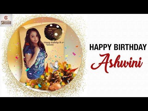 Video YouTube Celebs Special Birthday Wishes to Mahanati Ashwini | #HappyBirthdayAshwini download in MP3, 3GP, MP4, WEBM, AVI, FLV January 2017