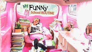 Video Bug's Funny School Routine | My A+ Life MP3, 3GP, MP4, WEBM, AVI, FLV Januari 2019