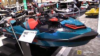 5. 2018 Sea Doo Wake Pro 230 Jet Ski - Walkaround - 2018 Toronto Boat Show