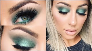 Green Smokey Eye Tutorial- Chrisspy by Chrisspy